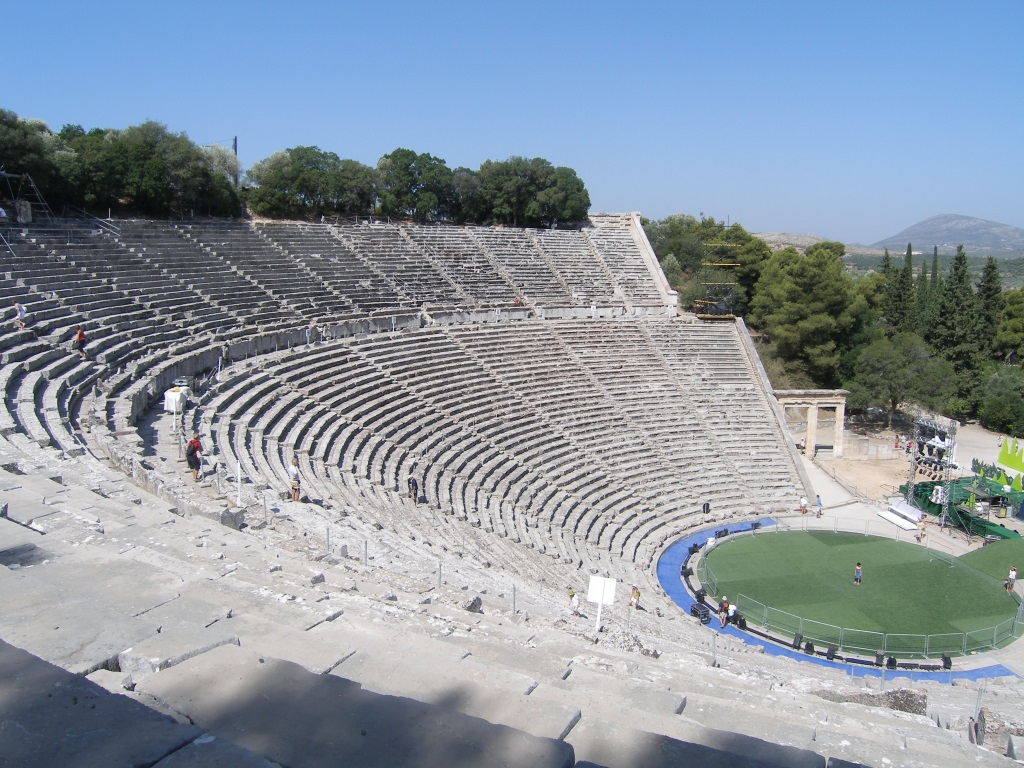 Epidaurus ancient theather, Epidavros, Nafplio, Ermioni ...